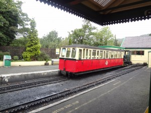 A single carriage train will take us up Snowdon.