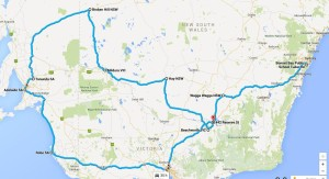 4305 km door to door