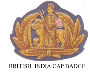 BRITISH INDIA CAP BADGE