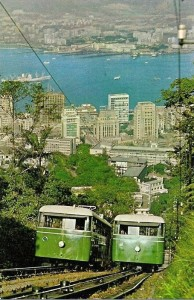 HONG KONG Funiculaire Victoria Peak